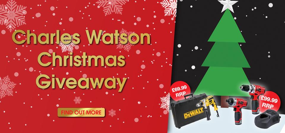 Charles Watson Christmas Giveaway Slider