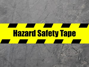 How to Comply to Social Distancing Rules With Hazard Safety Tape