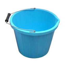 3L Gallon Blue Plastic Bucket