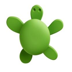 Cebi Joy Green Turtle Kids Cabinet Knob