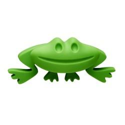 Cebi Joy Green Frog Kids Cabinet Knob