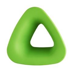Cebi Joy Green Triangle Kids Cabinet Knob