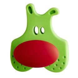 Cebi Joy Green & Red Flit Kids Cabinet Knob