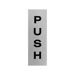 JPS200SS Push Sign
