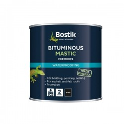 Bostik 2500ml Black Bitumen Paint