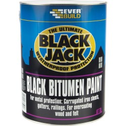 5L Black Bitumen Paint