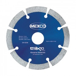 Mexco ABX10 115mm Diamond Blade - 22.23mm Bore