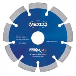 Mexco ABX90 125mm Diamond Blade - 22.23mm Bore