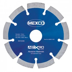 Mexco ABX90 230mm Diamond Blade - 22.23mm Bore