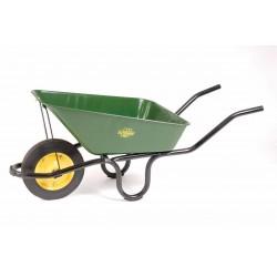 Lasher 65L Heavy Duty Wheelbarrow With Rubber Wheel