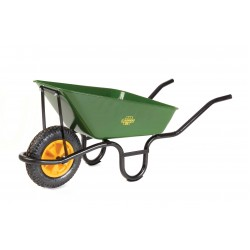 Lasher 65L Builders Wheelbarrow With Pheumatic Wheel
