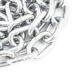 3mm Bright Zinc Plated Short Link Chain