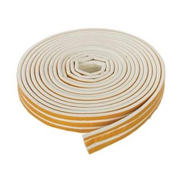 5m White 'E' Intumescent Strip