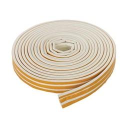 5m White 'E' Intumescent Strip
