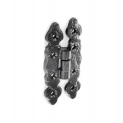 SecurIt B3337 80mm Black Antique Hinges (Pair)