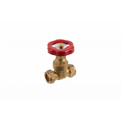 COMAP 07901 15mm Brass Compression Gatevalve