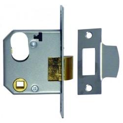 Union L2332 66mm Satin Chrome Night Latch Case Only