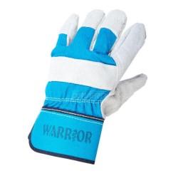 Warrior Rigger Blue Gloves