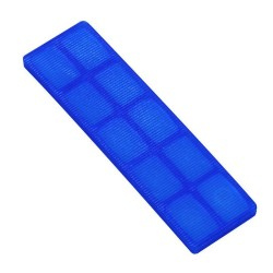 53mm x 62mm x 5mm Blue Horseshoe Packer (Pack of 200)