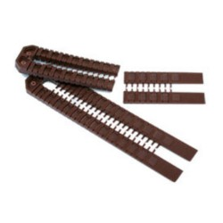 53mm x 62mm x 10mm Brown Horseshoe Packer (Pack of 200)