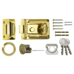 ERA 60mm Traditional Door Lock Brass Cylinder