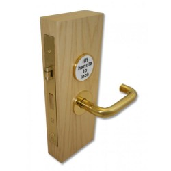 Brass Jeflock Accessible Toliet Lock
