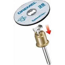 Dremel 456 12 x SpeedClic Metal Cutting Discs