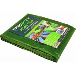 3m x 2.1m Green Tarpaulin