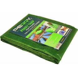 4.8m x 3m Green Tarpaulin
