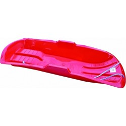Red Bobkat Snow Sledge