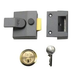 B-84-DMG-PB-40 84 Narrow Stile Nightlatch