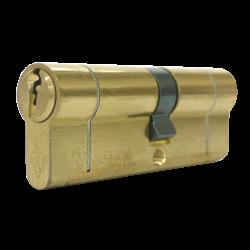 30/30 1* TS007 Brass Euro Cylinder