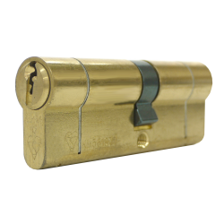 30/40 1* TS007 Brass Euro Cylinder