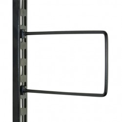 Black Flexible Book End Pair 150mm x 120mm