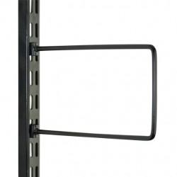 Black Flexible Book End Pair 200mm x 120mm