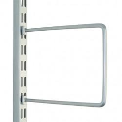 150mm x 120mm Silver Flex Book End (Pair)