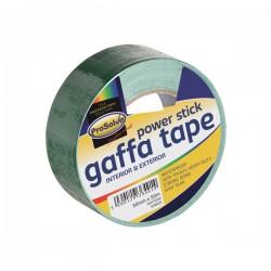 50mm x 50m Green Gaffer Tape