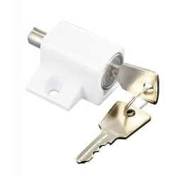White Window / Patio Door Lock