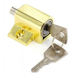Brass Window / Patio Door Lock