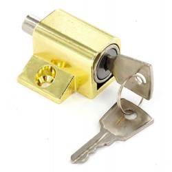 Brass Window / Patio Door Lock