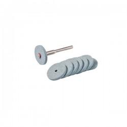 Silverline 20mm Diameter 9 Piece Rotary Tool Grinding Wheel Set