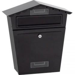 SupaHome Black Letter Box