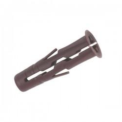 RawlPlug 7 x 30mm Brown Uno Wall Plugs 68-555 (Pack of 48)