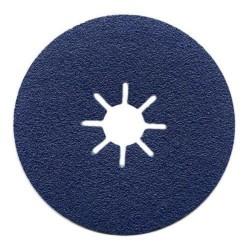 115mm 36 Grit Blue Line Zircodium Sanding Discs