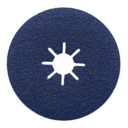 115mm 36 Grit Blue Line Zircodium Sanding Discs