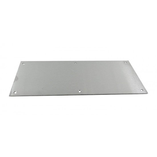 560mm x 100mm SAA Kick Plate Square Corners
