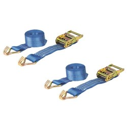 35mm x 6m Heavy Duty Ratchet Strap - Tie Down 2000kg