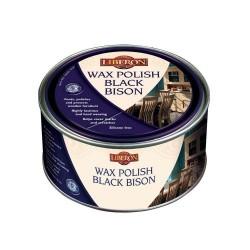 Liberon 500ml Black Bison Medium Oak Wax Polish