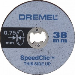 Dremel EZ SpeedClic Thin Cutting Wheels
