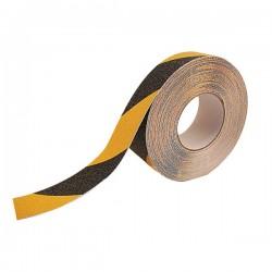 25mm x 1m Black & Yellow Anti Slip Tape